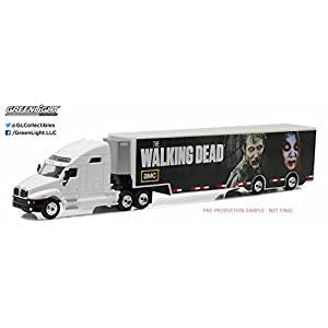 GreenLight The Walking Dead (2010-Current TV Series) - Kenworth T2000 Hauler (1:64 Scale) Vehicle