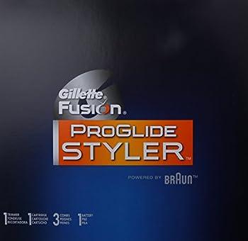 Gillette Fusion Proglide Men's Razor Styler 3-in-1 Body Groomer & Beard Trimmer, Mens Razorsblades 4