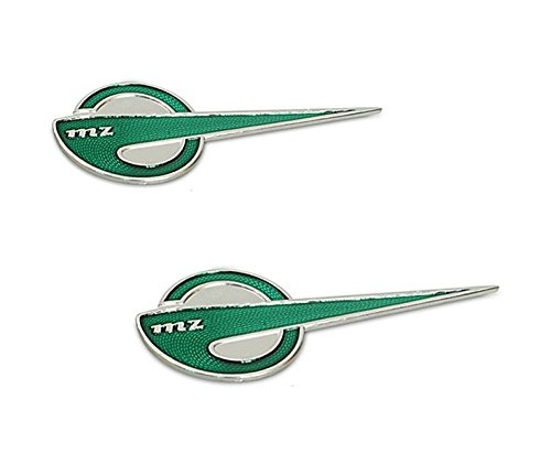 ES250//1 Schriftzug Emblem Plakette ES300 Gr/ün // Silber 4-029 MZ ES175//1