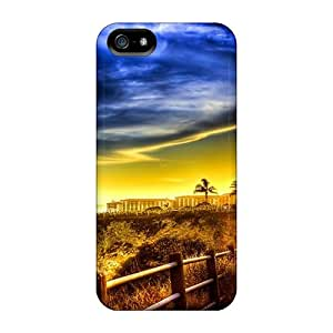 Slim Fit Protector Shock Absorbent Bumper Awesome Lscape Hdr Cases For Iphone 5/5s