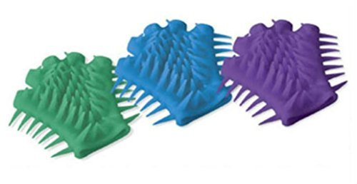 Hyper Flex SPIKY GLOVE Special Needs Fidget Hand Therapy Autism Sensory Stress (Blue) from Unknown