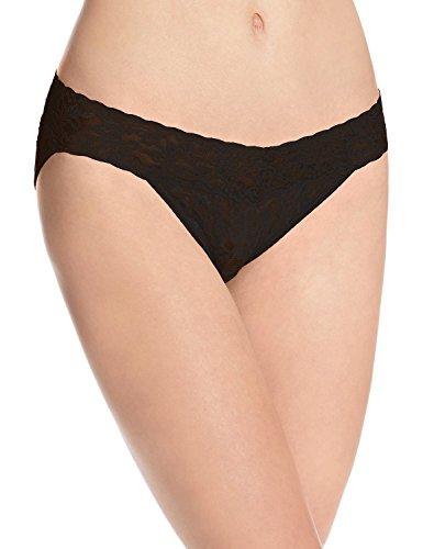 Hanky Panky Women's Vikini Panty, Black, Small