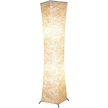 Floor Lamp, BI LIGHT Modern Twisted Design Fabric Soft Lighting Floor Lamps  For Living Part 48