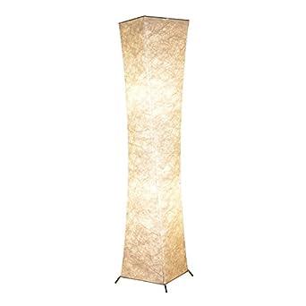 Floor Lamp, BI-LIGHT Modern Twisted Design Fabric Soft Lighting ...