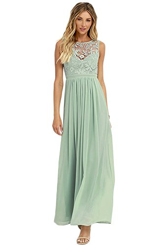 Angelstormy Length Dress Lace Ankle As Women's Long Formal Trough See Picture Sheath Chiffon BqHrB40