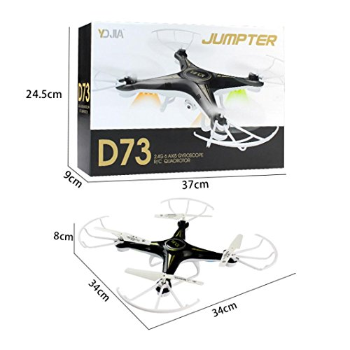 Price comparison product image Quadcopter Drone with Camera Boofab Drones FPV 2.4G Altitude Hold HD Camera with Remote Control,  FREE Extra Battery and Quadcopters Crash Replacement Kit,  Easy Use for Beginners Kids (A)