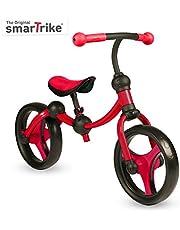 smarTrike Toddler Balance Bike 2,3,4,5 years old - Lightweight & Adjustable kids Balance Bike, Red