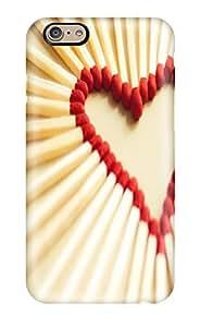 love matchsticks Love Art high quality iPhone 6 cases
