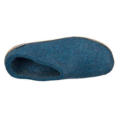 Model B Unisex Slipper Blue Glerups qRPwn5Fv5