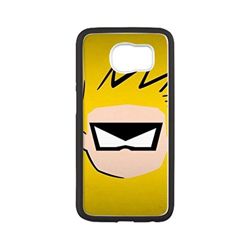 [DONGMEN New fashion custom Cute Cartoon hight quality Laser Technology TPU & Plastic Samsung Galaxy S6 Protective] (Smurf Costume Australia)