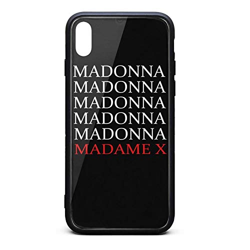 Madonna-Madame-X- Phone Case for iPhone Xs MAX TPU Full Protective Perfectly fit Anti-Scratch Fashionable Glossy Anti Slip Thin Shockproof Soft Case -