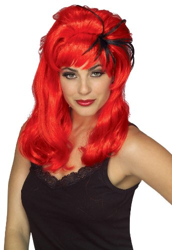 Rubie's Costume Spiderella Wig, Red, One Size