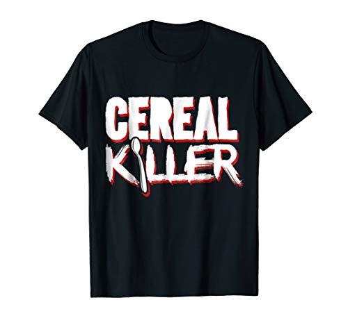 Cereal Killer Funny Halloween Costume T-Shirt -
