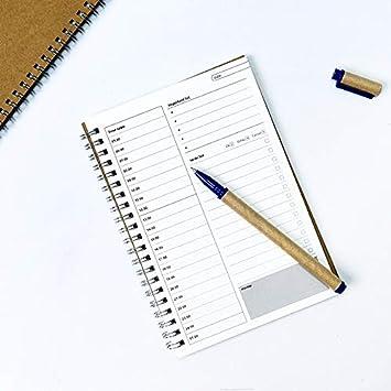 Amazon.com: Dart3089 Big Weekly Planner Notebooks Agendas ...