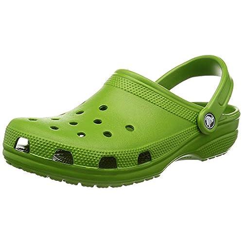 Crocs Crocs Unisex Classic Clog Parrot Green Clog Mule Men s 4 Women s 6 Medium On Clearance