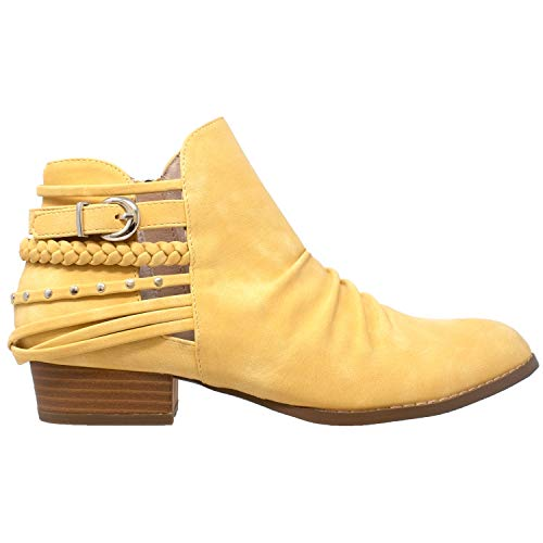 Buy western buckle booties