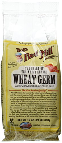 Bobs Red Mill Natural Raw Wheat Germ, 12 Ounce (Pack of 4) by Bob's Red Mill