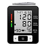 Digital Wrist Blood Pressure Monitor FDA Approved Automatic BP Monitor Portable Case