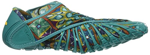 Vibram Mens and Womens Furoshiki Phulkari Sneaker Teal Multi yiNxZsvp