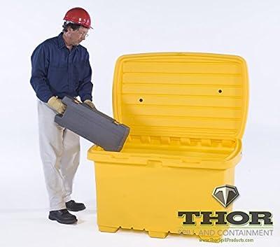 UltraTech 0862 Ultra-Utility Box Yellow no Wheels