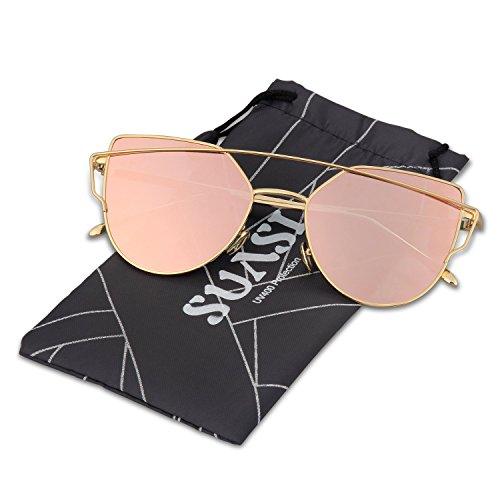 Metal Rimless Sunglasses - 6