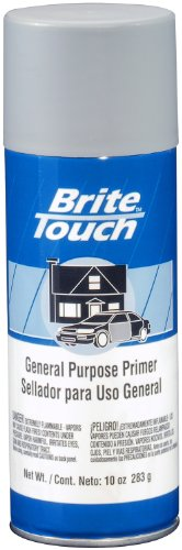 Brite Touch BT49 Gray Automotive and General Purpose Paint Primer - 10 oz. ()