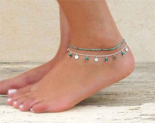geerier-compressed-turquoise-beads-anklet-bracelet-sandals-barefoot-jewelry