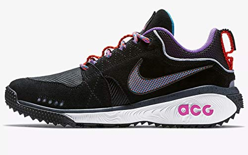 info for 161e8 27ce3 Nike ACG Dog Mountain Mens Aq0916-001 (13 M US, Black Equator Blue-Dark  Grey-Hyper Grape)