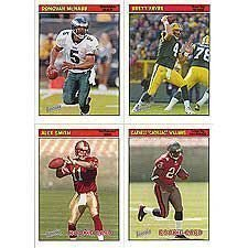 (2005 Topps Bazooka NFL Football Series Complete Mint Hand Collated 220 Card Set Featuring Aaron Rodgers Rookie Card )