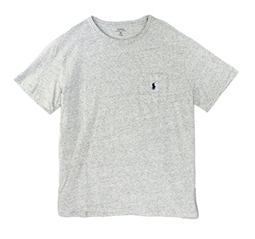 Polo Ralph Lauren Mens Crew Neck Pocket T-Shirt (L, Lawrence - Free Polo Shipping