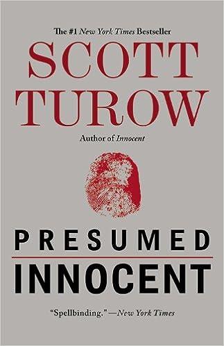 Amazon.com In Presumed Innocent Author