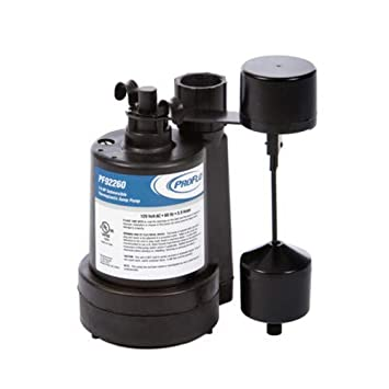PROFLO PF92260 1//4 HP Thermoplastic Submersible Sump Pump