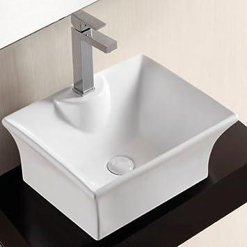 Waschbecken rechteckig mit unterschrank  Osana Theke oder Unterschrank mit Waschbecken, Rechteckig: Amazon ...