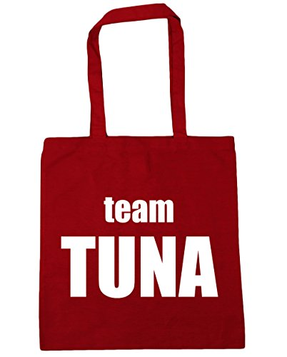 x38cm Red Shopping Classic Bag litres 10 Beach Gym Tuna HippoWarehouse Tote 42cm Team office IOqIRwz