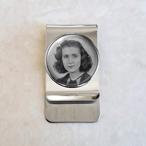 Keepsake Custom Image Stainless Steel Money Clip (Keepsake Clip Money)