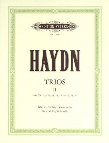Piano Trios Volume II for Piano Violin & Cello