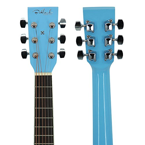 Bailando 30 Inch Starter Acoustic Beginner Guitar with Carrying Bag & Accessories, Blue - Image 2