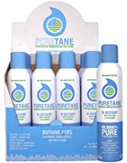 Puretane N-Butane Triple Refined 11X Filtered (1 Box -12 Cans) *Free Shipping* (Special Sale!) (Cannot Ship to P.O Boxes)