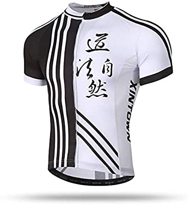 Mens Cycling Jersey Bike Short Sleeve Clothing Quick Dry Bicycle Racing Ride Top