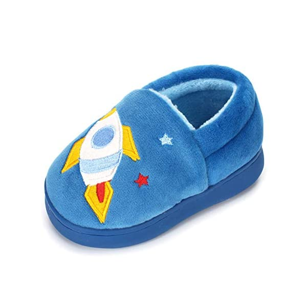 ESTAMICO Boys Girls Warm Winter Indoor Household Shoes for baby