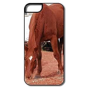 IPhone 6 plus Covers, Horse Case For IPhone 6 plus 6 plus - Whiteblack Hard Plastic