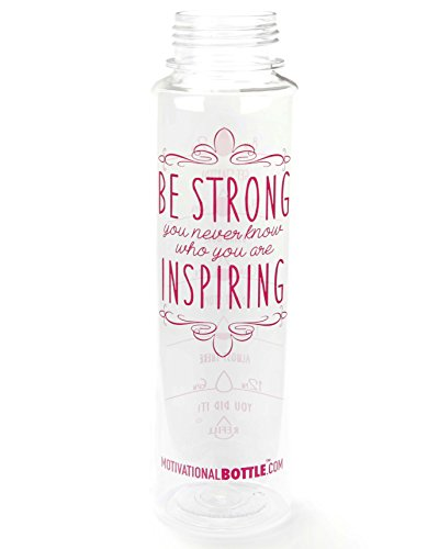 Pink Motivational Water Bottle®
