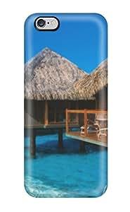 Hot Case Cover Iphone 6 Plus Protective Case Bora Bora 8554940K45100621