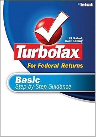 TurboTax Basic 2007 Download OLD VERSION