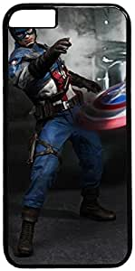 Captain America 1 Retro Vintage Design iPhone 6 (4.7 inch) Hard Shell Case Cover by iCustomonline by mcsharks
