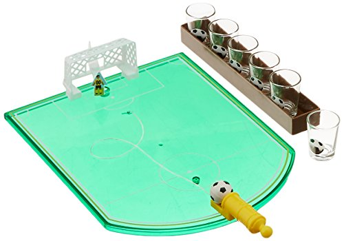 Game Night 326127-GB Shot Glass Drinking Soccer Game (6 Piece), Green by Game Night