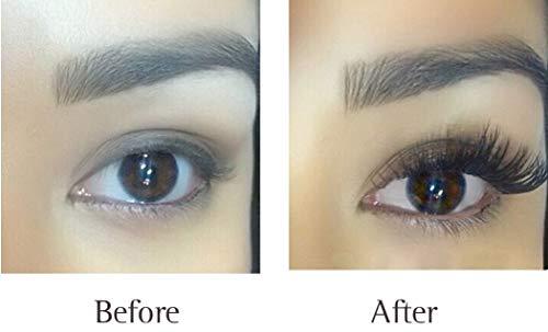 bf8a3033993 QBEKA Eyelash Growth Serum, Lash Serum, Eyelash Extensions Serum Liquid,  Natural Advanced Eyelash