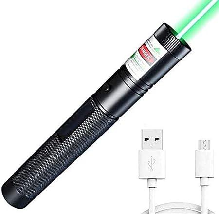 GoGreen Sprouter CLOL 202129-CL1567 Light LED Green 1 Mode Long Range Green Tactical Flashlight Green Shooting Flashlight Green Guiding Flashlight with USB Cable