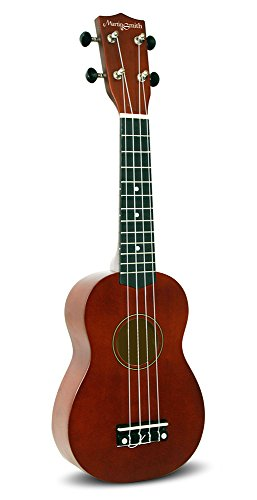 Martin Smith 312 Ukulele Starter Kit – Includes lessons, tuner, strap, spare strings and gig bag. Natura - Image 1