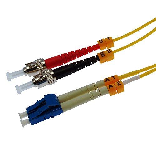 (GOWOS 3m LC-ST Duplex Singlemode 9/125 Fiber Optic Cable)